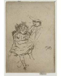 Gipsy Baby Greedy Baby, Photographs 2532... by Whistler, James McNeill