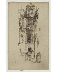 La Mairie, Loches, Photographs 25333V by Whistler, James McNeill