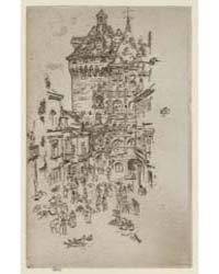 Hôtel De Ville, Loches, Photographs 2533... by Whistler, James McNeill