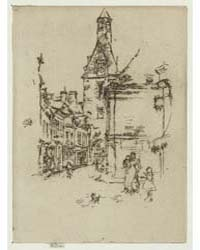 Clock Tower, Amboise, Photographs 25340V by Whistler, James McNeill