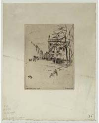 Fitzroy Square, Photographs 25349V by Whistler, James McNeill