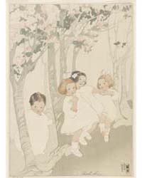 Four Children Dancing Beneath Blossoming... by Lum, Bertha Boynton