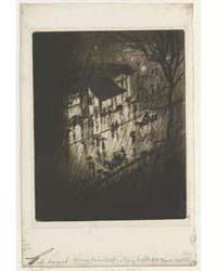 Rainy Night, Charing Cross Shops, Photog... by Pennell, Joseph