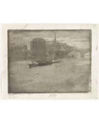 Mist on the Thames, Photographs 38039V by Pennell, Joseph
