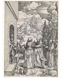 The Visitation, Ad., Photographs 38203R by Dürer, Albrecht