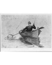 Flyfishing, Winslow Homer, Photographs 3... by Homer, Winslow