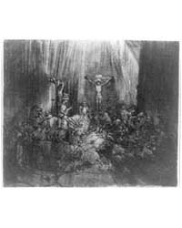 The Three Crosses, Photographs 3A36194R by Rembrandt Harmenszoon Van Rijn