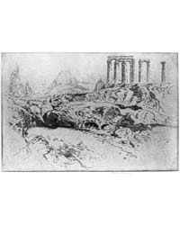 Temple of Jupiter, Athens, Photographs 3... by Pennell, Joseph