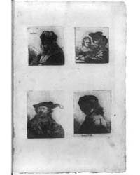 Restrikes of Four Rembrandt Etchings, Ph... by Library of Congress