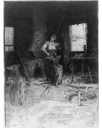 The Blacksmith's Shop, Photographs 3B079... by Weir, Julian Alden