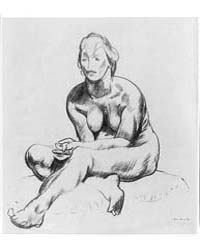 Nude with Folded Hands, Photographs 3B08... by Bellows, George