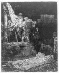 Descent from the Cross by Torchlight, Ph... by Rembrandt Harmenszoon Van Rijn