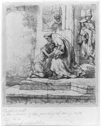 The Return of the Prodigal Son, Photogra... by Rembrandt Harmenszoon Van Rijn