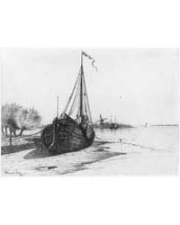 Low Tide on Dutch River, Photographs 3B1... by Dillaye, Blanche