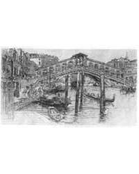 The Rialto, Venice, Photographs 3B19595R by Duveneck, Frank