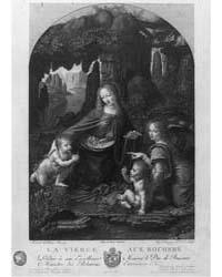 La Vierge Aux Rochers, Léonard De Vinci,... by Desnoyers, Auguste Boucher