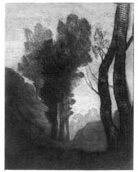 Environs of Rome, Photographs 3B25272R by Corot, Jean-baptiste-camille