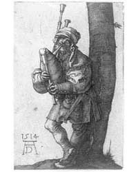 The Bagpiper, Photographs 3B30837R by Dürer, Albrecht