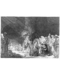 The Presentation of Jesus in the Temple ... by Rembrandt Harmenszoon Van Rijn