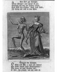Der Tod Zur Königin. Frau Königin! Euer ... by Chovin, Jacques Antony