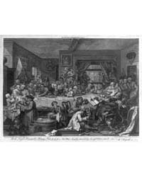 An Election Entertainment. Plate I, Phot... by Hogarth, William