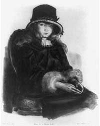 Anne in a Black Hat, Photographs 3B32396... by Bellows, George