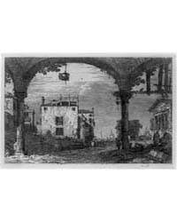 The Portico with a Lantern, Photographs ... by Canaletto