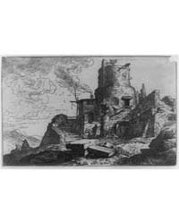 Castle in Ruins, Photographs 3B35920R by Dietrich, Christian Wilhelm Ernst
