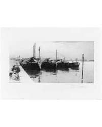 Dutch Market Boats, Photographs 3B37683R by Platt, Charles A.