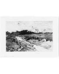Brittany Landscape, Photographs 3B37692R by Platt, Charles A.