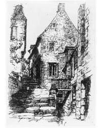 Rue De La Ville, Mont St. Michel, Britta... by Greatorex, Eliza