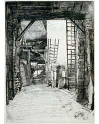 The Lime-burner, Photographs 3B49327V by Whistler, James McNeill