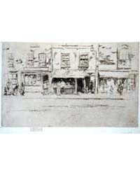 The Fish-shop, Busy Chelsea, Photographs... by Whistler, James McNeill