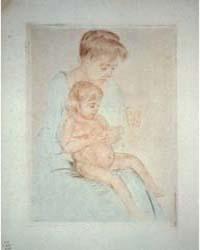 The Manicure, Photographs 3B52832R by Cassatt, Mary
