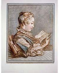 Woman Reading a Book Eloyse Et Abailard,... by Demarteau, Gilles