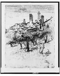 San Gimignano, Photographs 3C01663V by Pennell, Joseph