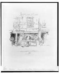 Maunder's Fish Shop, Chelsea, Photograph... by Whistler, James McNeill