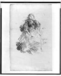 Woman Seated, Full-length, Left Hand Und... by Whistler, James McNeill