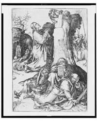 Christ Praying on the Mount of Olives, P... by Schongauer, Martin