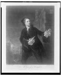 Mr. Garrick in Hamlet, Photographs 3C153... by McArdell, James