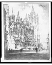 West Front, Rouen Cathedral, Photographs... by Pennell, Joseph
