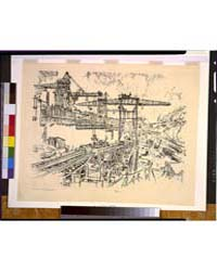 Building Miraflores Lock, Photographs 3G... by Pennell, Joseph