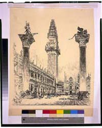 Venice: Rebuilding the Campanile, Photog... by Pennell, Joseph