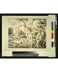 The Bathers, Photographs 3G05733V by Cézanne, Paul
