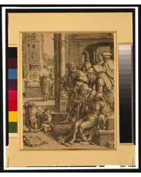 Virgil Suspended in a Bucket, Photograph... by Lucas, Van Leyden