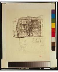 Palazzo Casa D'Oro, Otto Artist's Stamp,... by Bacher, Otto H.