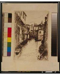 A Canal in Venice, Photographs 3G09920V by Bacher, Otto H.