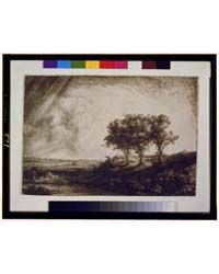 The Three Trees, Rembrandt F 1643, Photo... by Rembrandt Harmenszoon Van Rijn