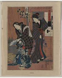 Unohana Zuki, Photograph 00051V by Utagawa, Toyokuni
