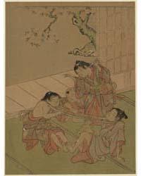 Kubihiki, Photograph 00137V by Kitao, Shigemasa